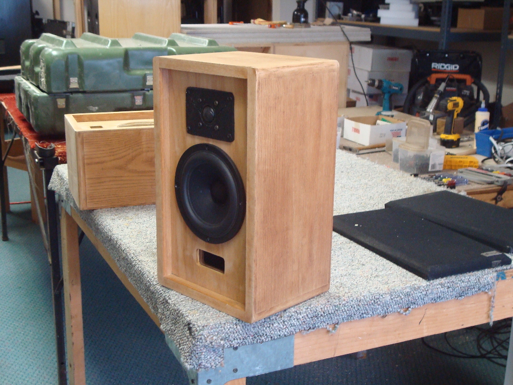 John Sprague bought these Mini S loudspeakers in 1983
